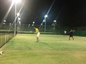 2回目テニス④