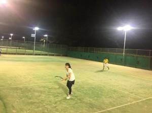 2回目テニス③